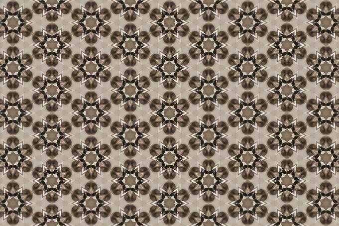Mat Chrome Flower Wall seamless texture