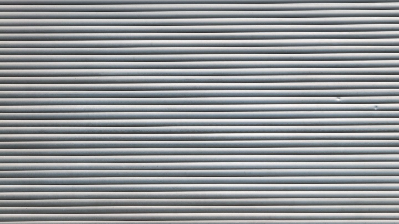 Metal Roll-Up Door Texture Background