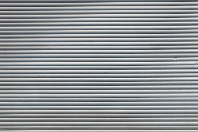 Metal Roll-Up Door Texture Background