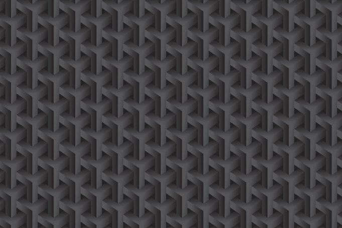Mobile hd wallpaper dark black background steel interlocked pattern