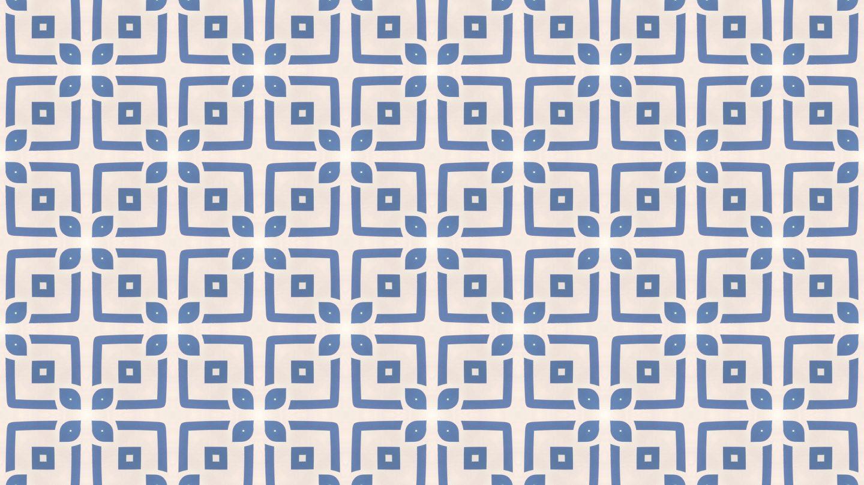 Modern Delfts Blue seamless Tiles Pattern