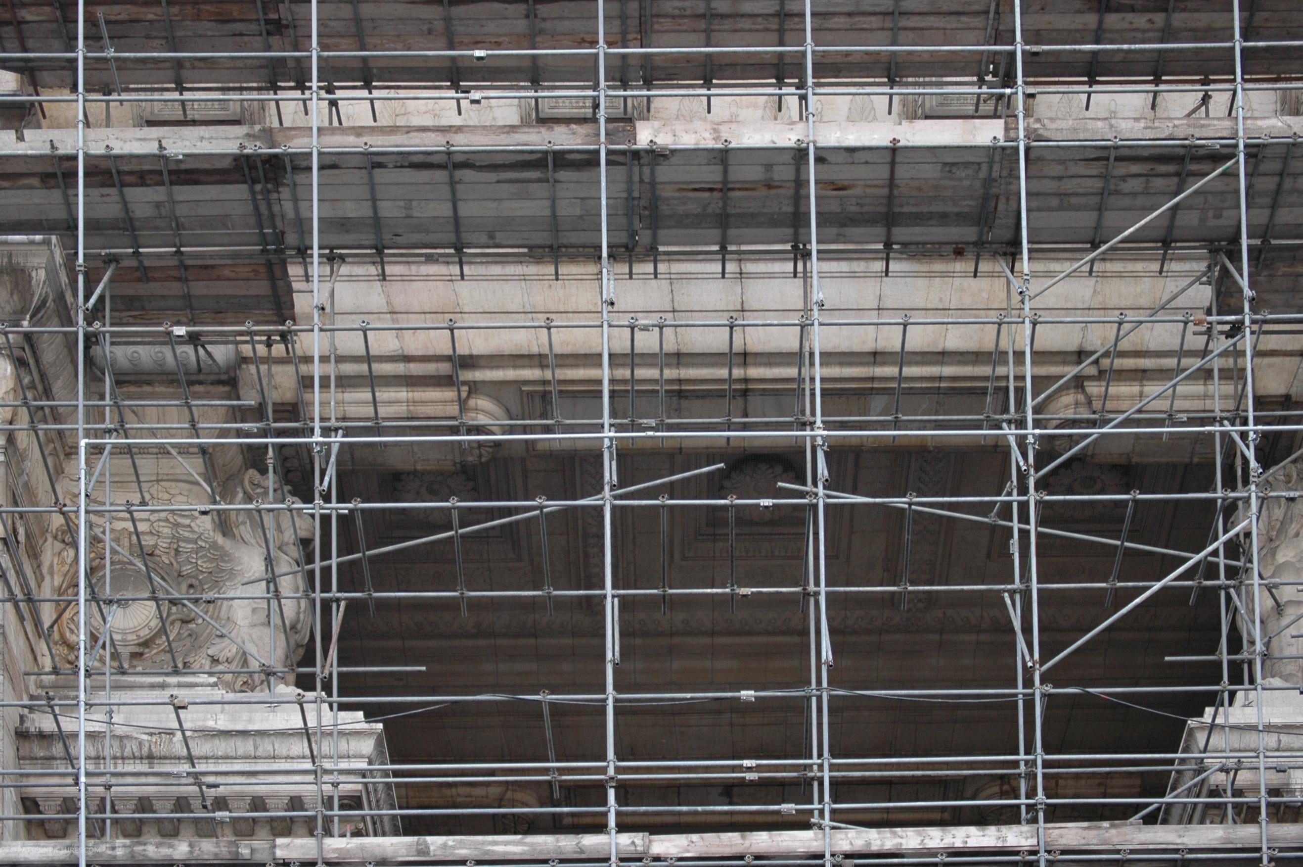 Monumental building renovation