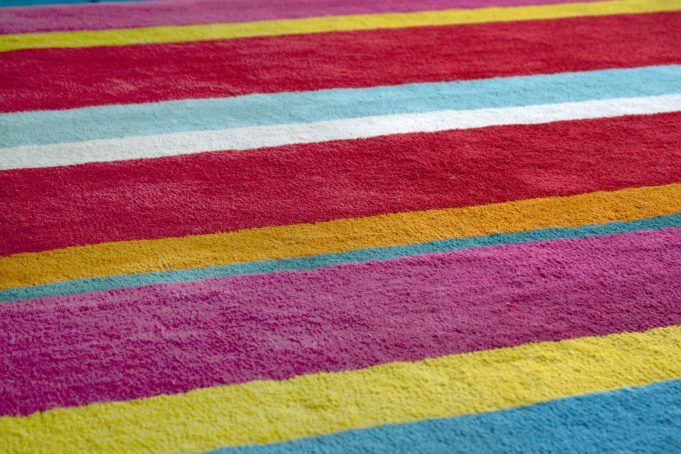 Multi Coloured Carpet
