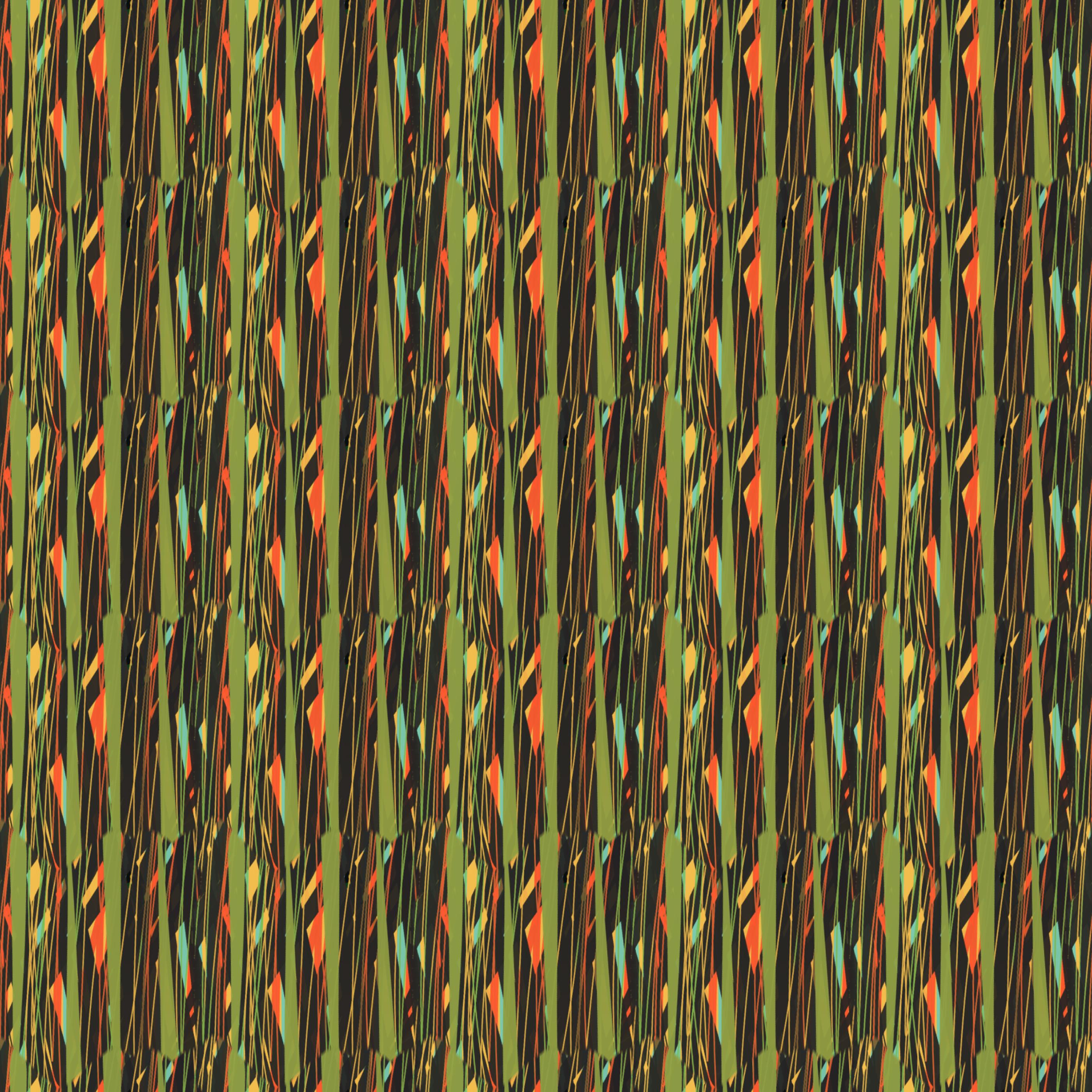 Natural Bush Pattern Vertical Lines