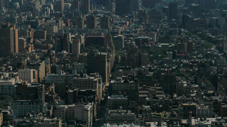 New York Manhattan full frame dark texture