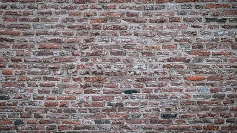 Old brick texture wall photo