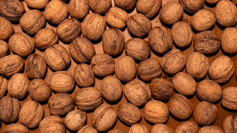 Organized Pattern of Walnuts