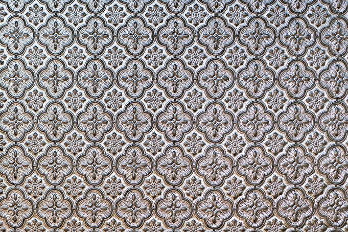Ornamental photo background pattern