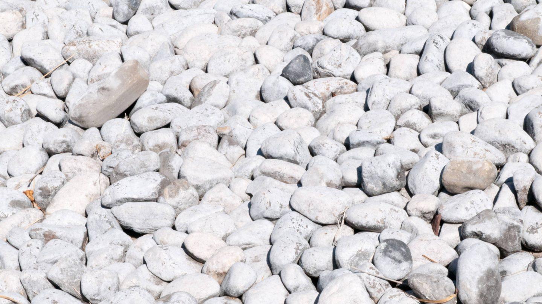 Light Large Pebble Rocks