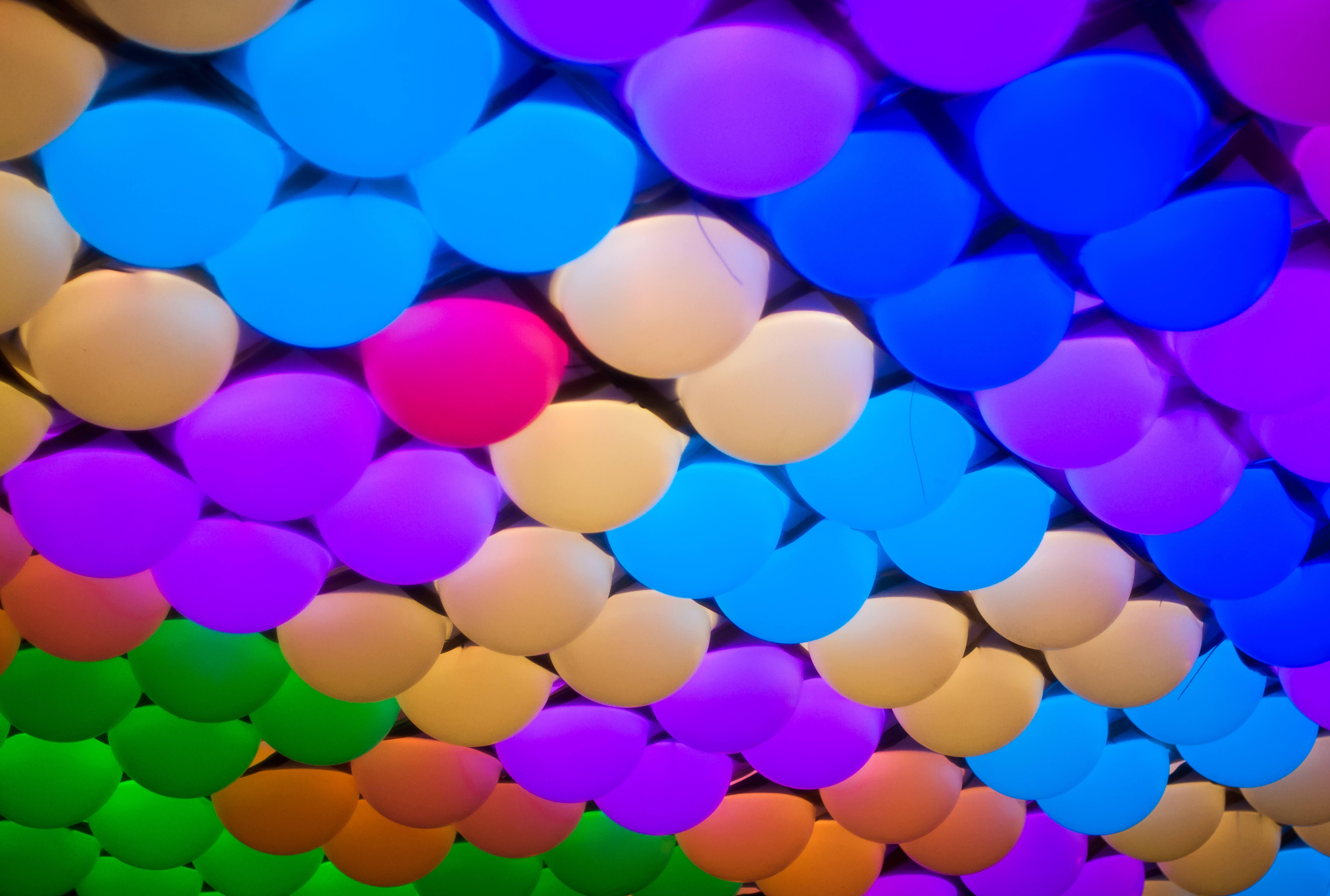 Multi Colored Light Bulbs