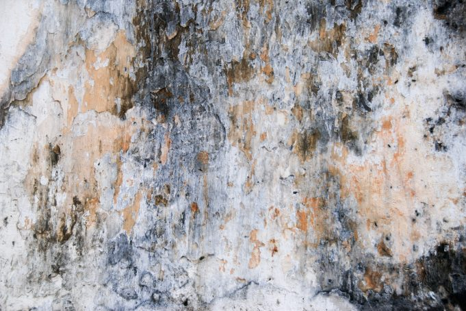 Grunge Soiled Stone Concrete Wall