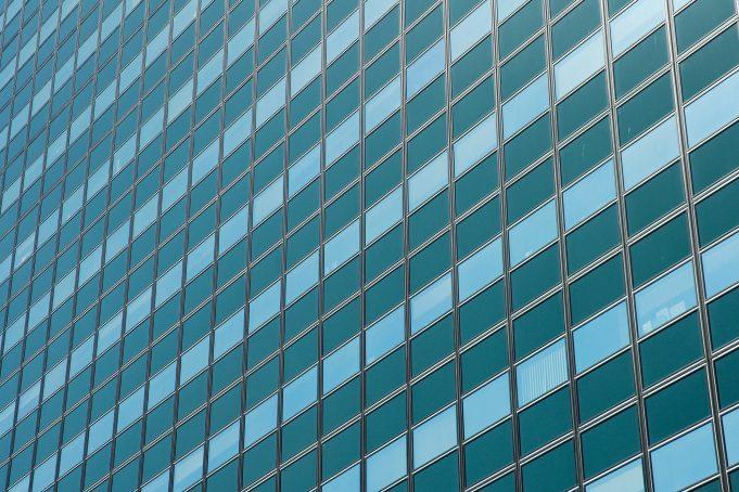 Skyscraper facade background