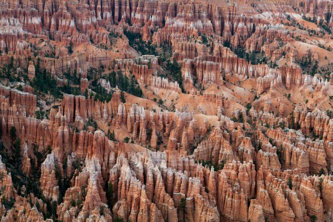 Hoodoos Formations Bryce