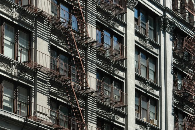 Typical American Fire Escapes