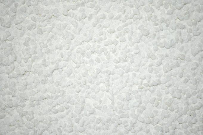 Close-up White Plasterwork