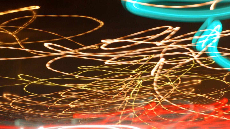 Tangled Light Beams