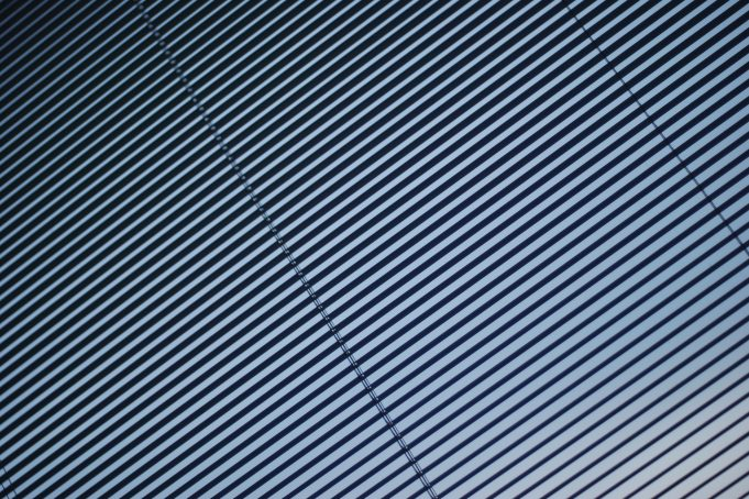 Gray Blinds Line Pattern