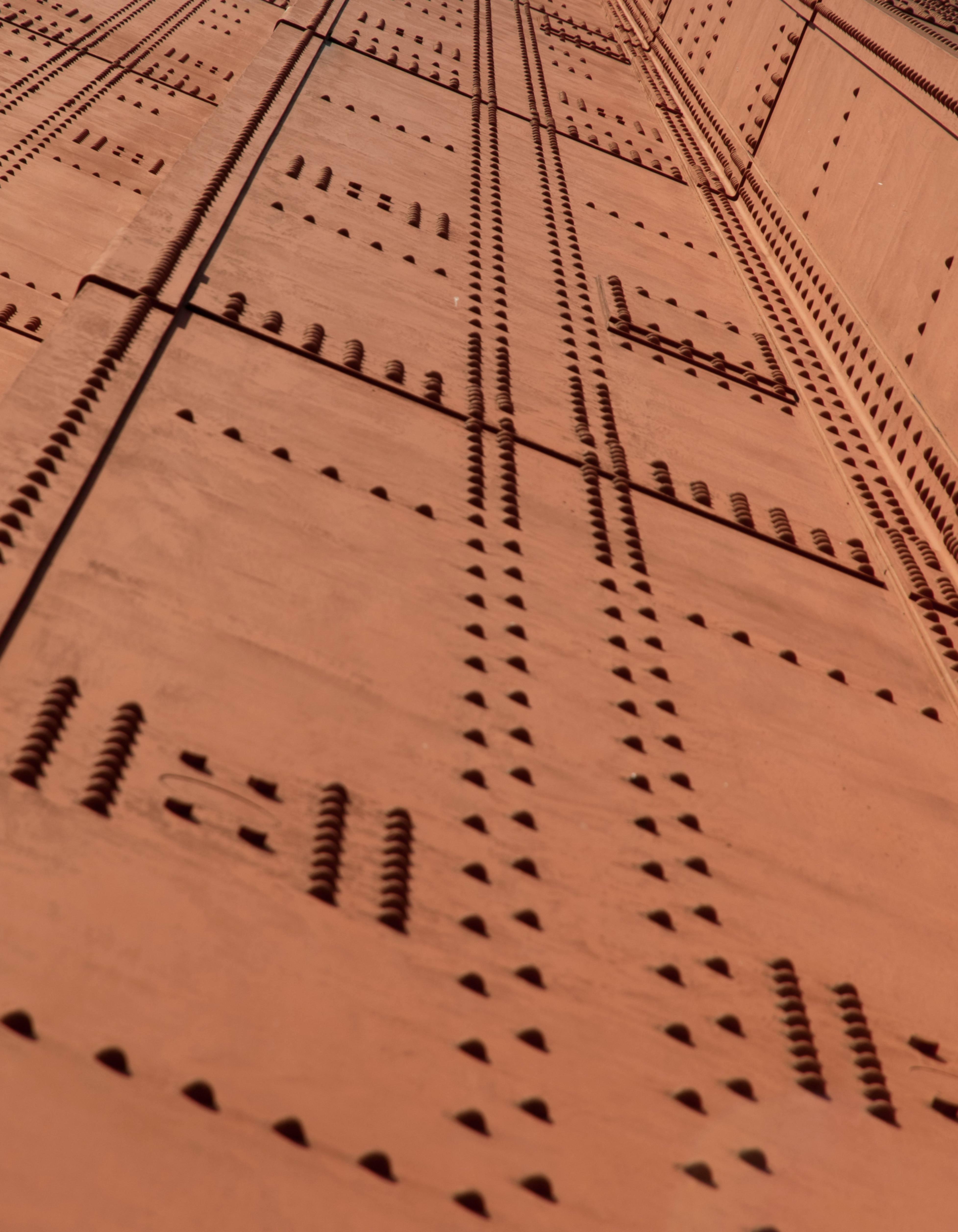 Golden Gate Metal Pattern