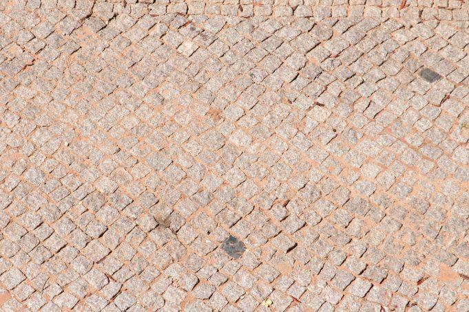 Small Mosaic Bricks Floor