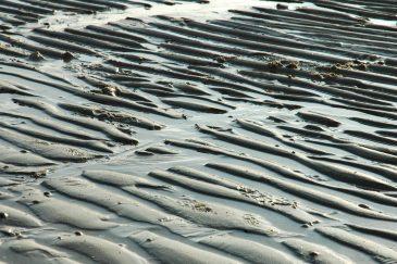 Beach Sand Waves Pattern