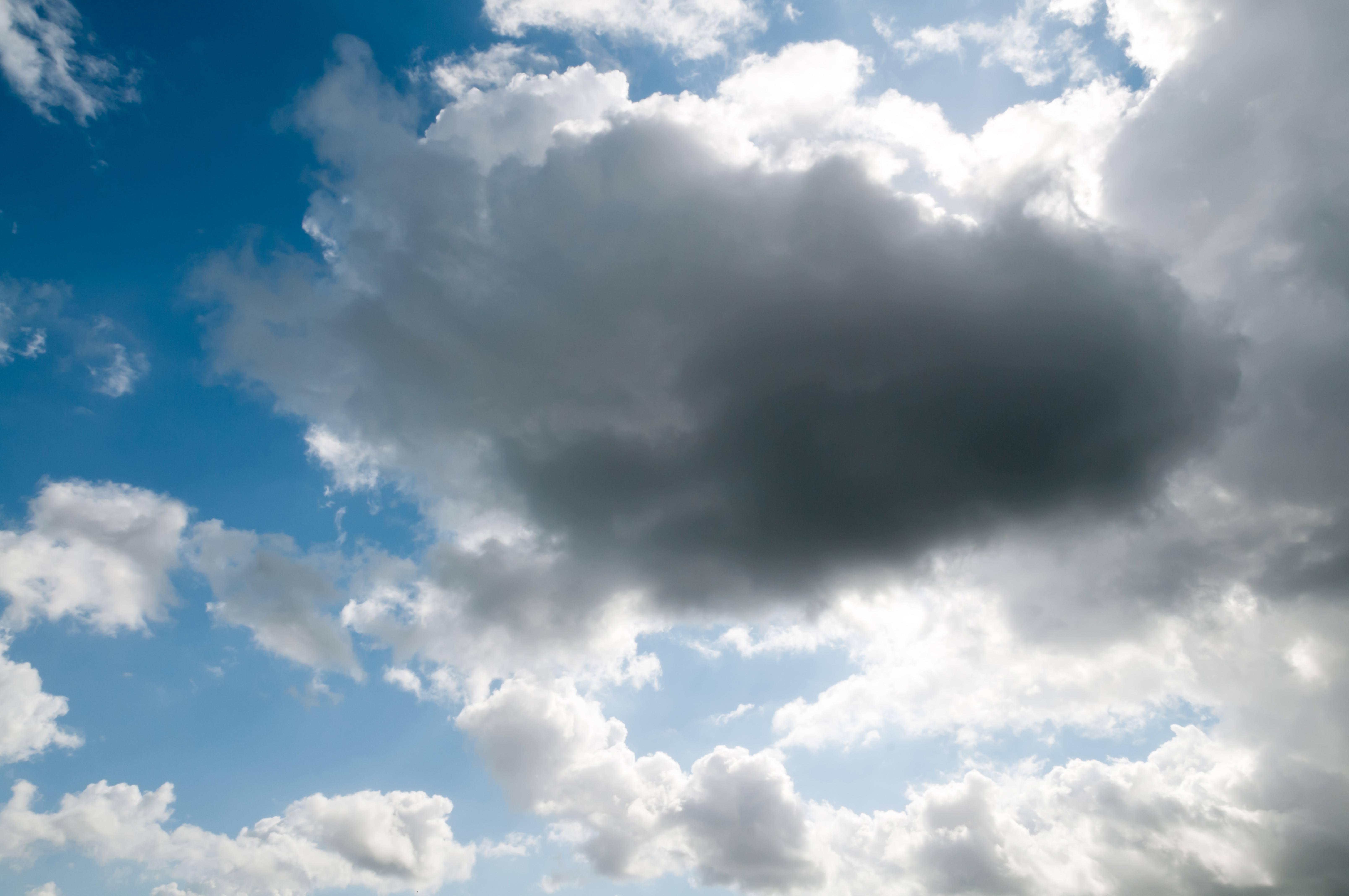 Big Dark Sun Blocking Cloud