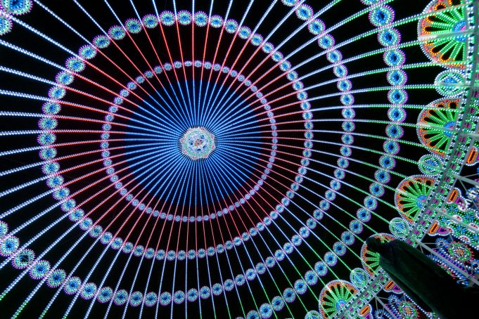 Dome of Light Fish Eye View