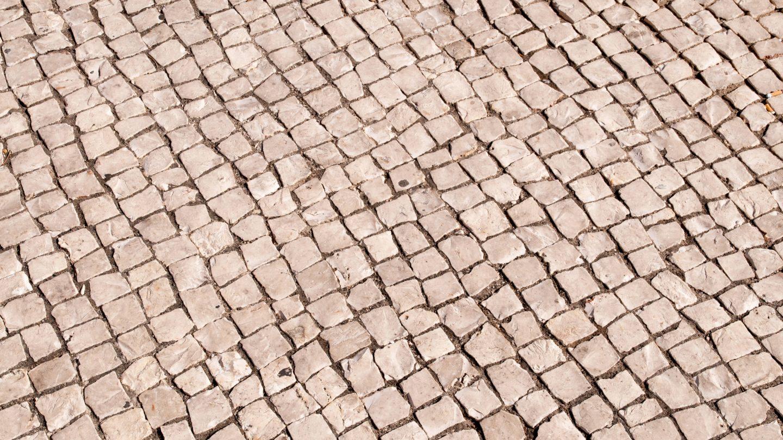Street road rocks pattern
