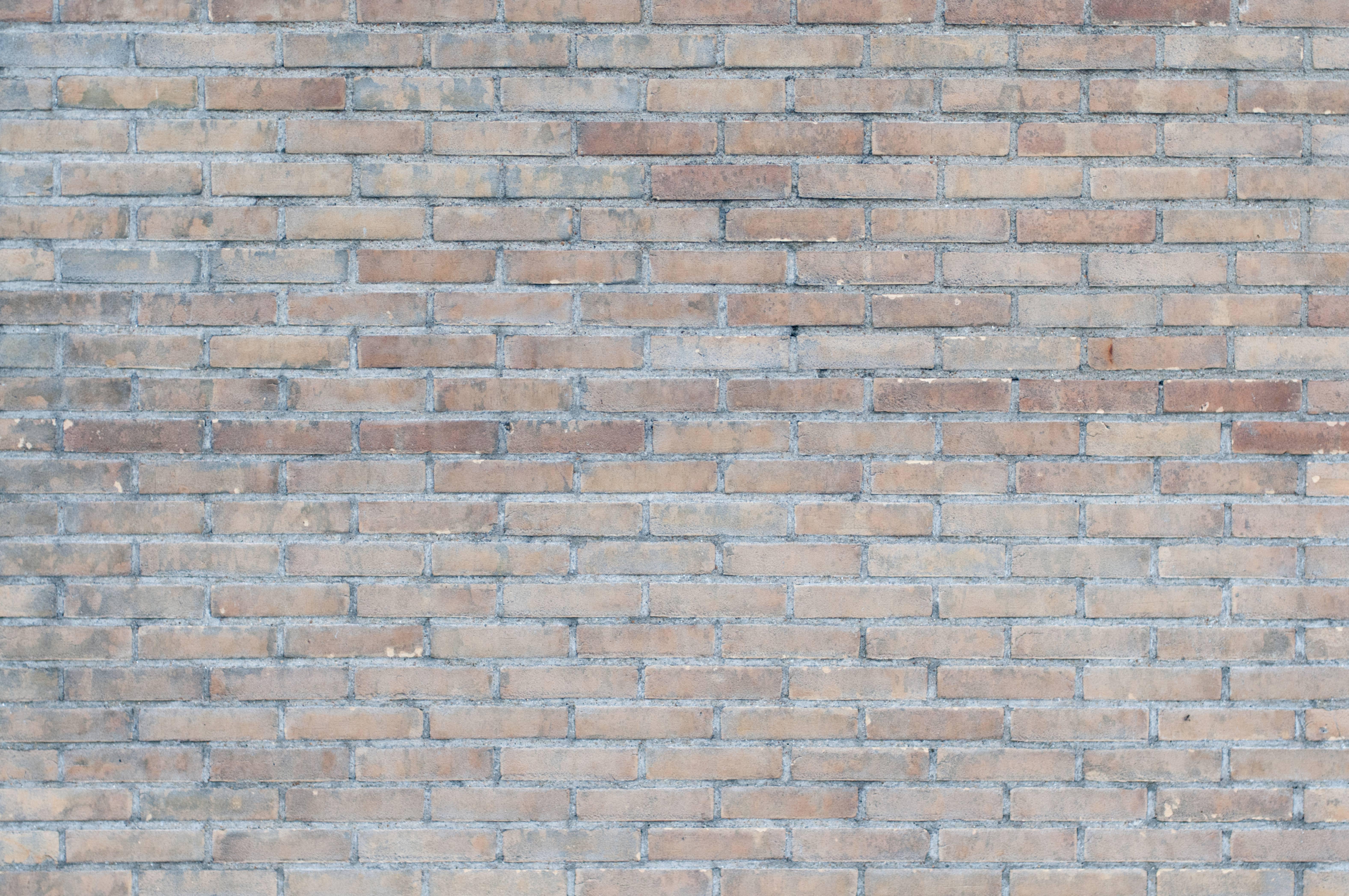 Brick house wall background