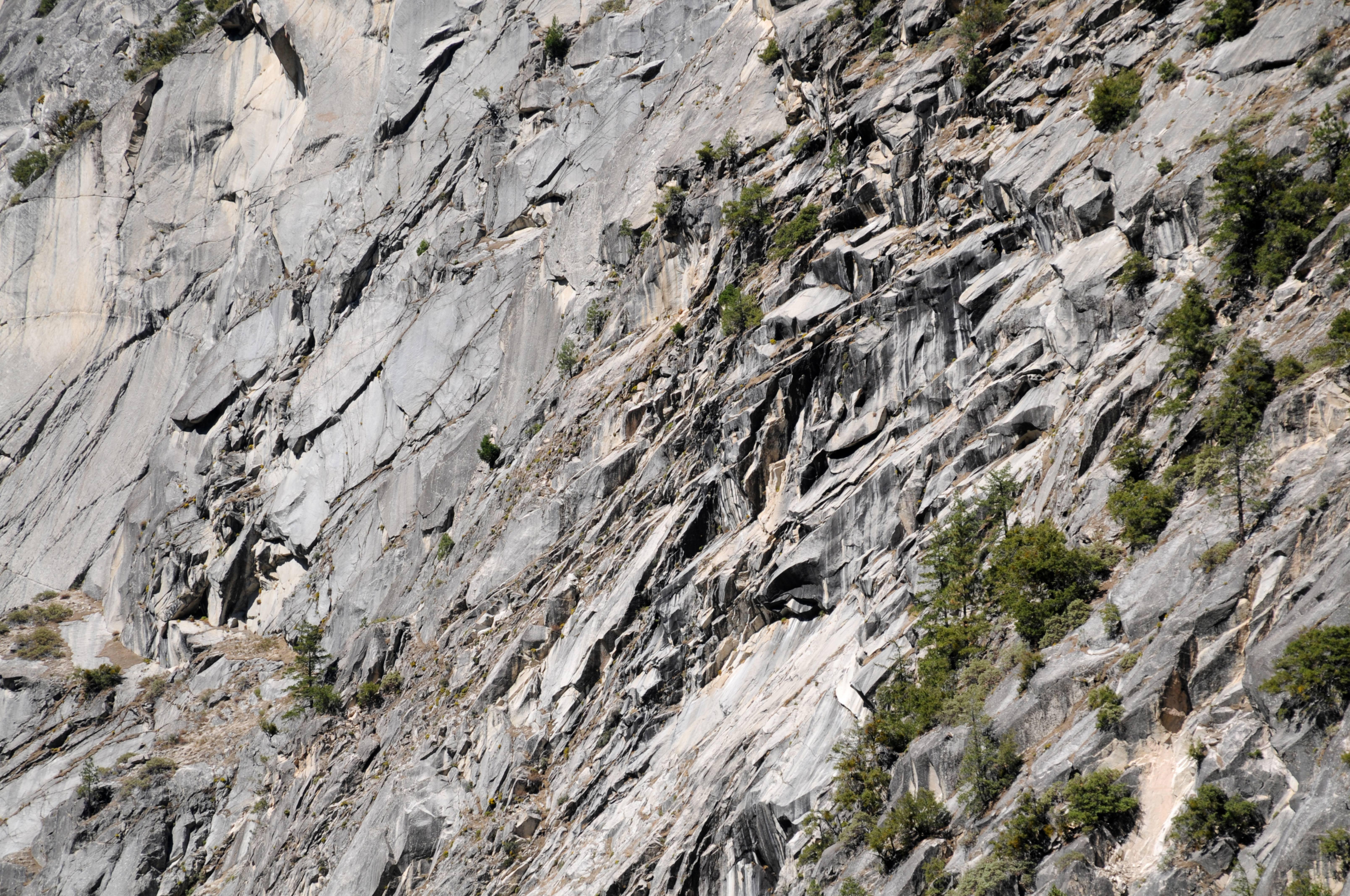 Yosemite mountain wall