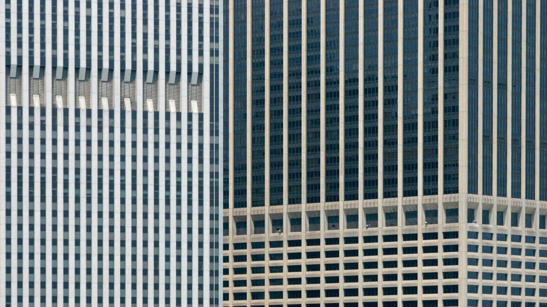 Skyscrapers Pattern of Windows