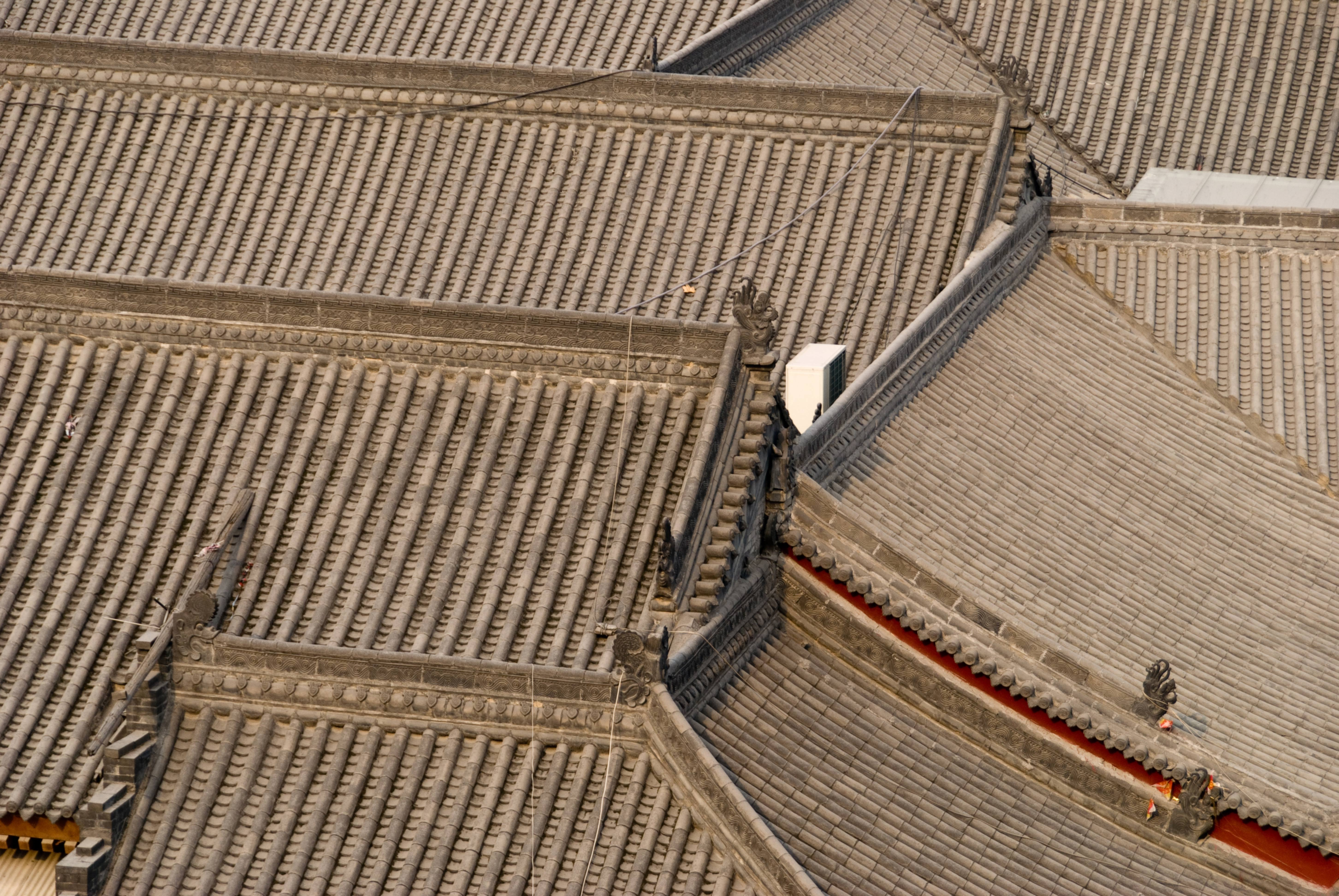 Chinese Temple Rooftops
