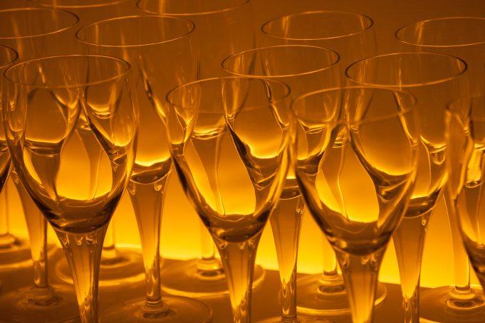 Glass Cabinet Pattern glow background