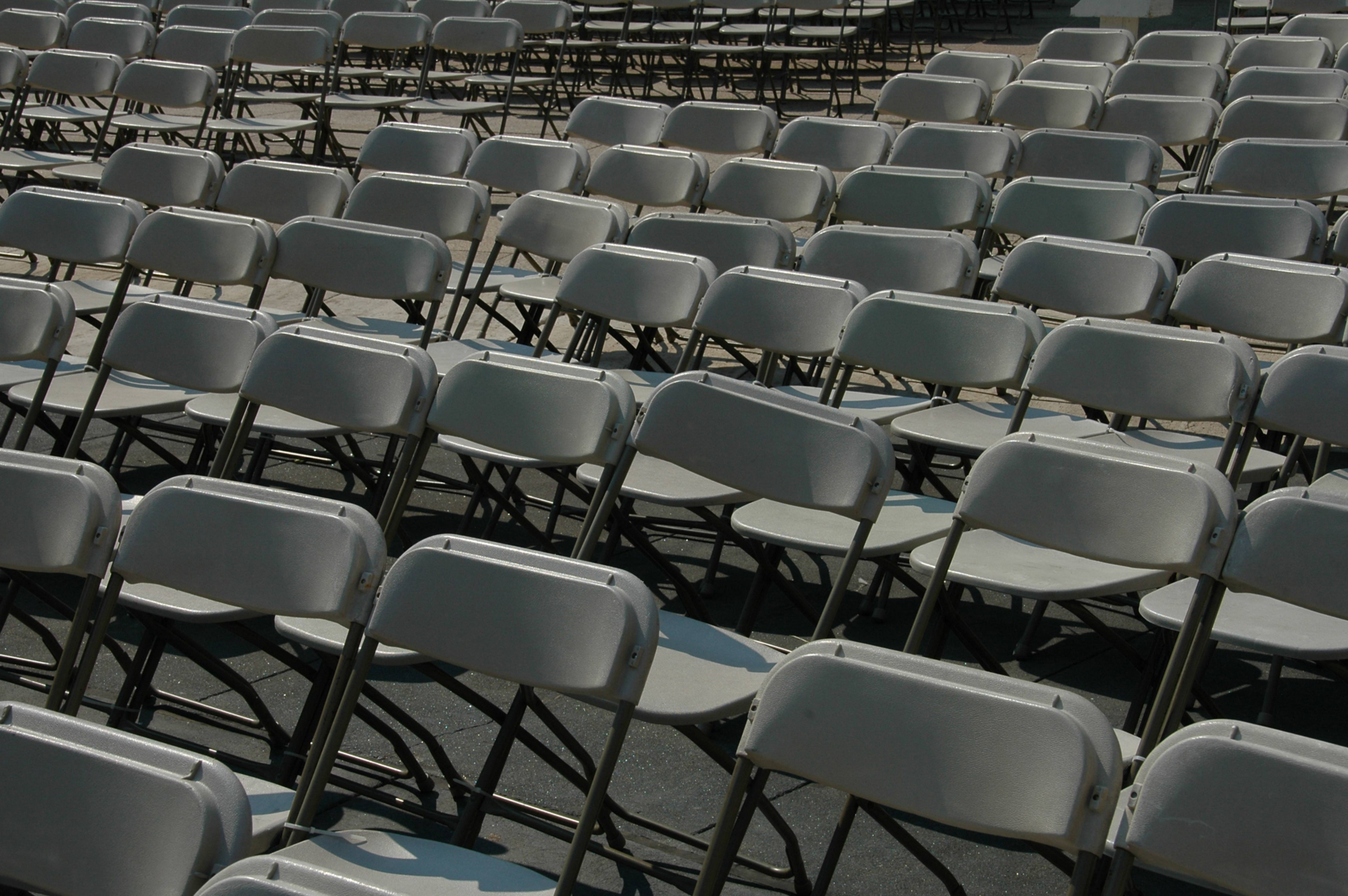 Folding Chairs Line-Up