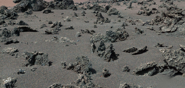 Lava Rocks and Sand