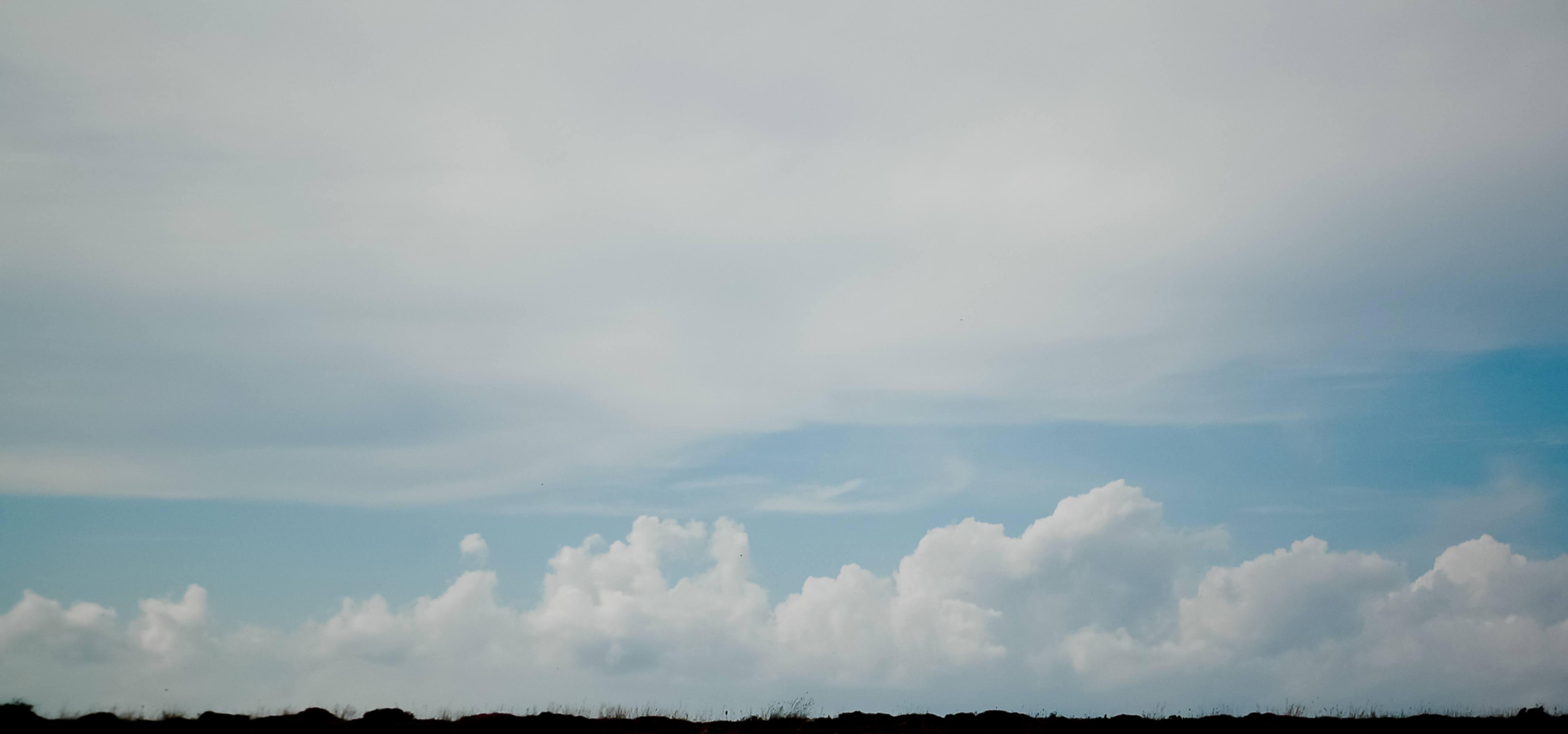Panopramic clouds sky