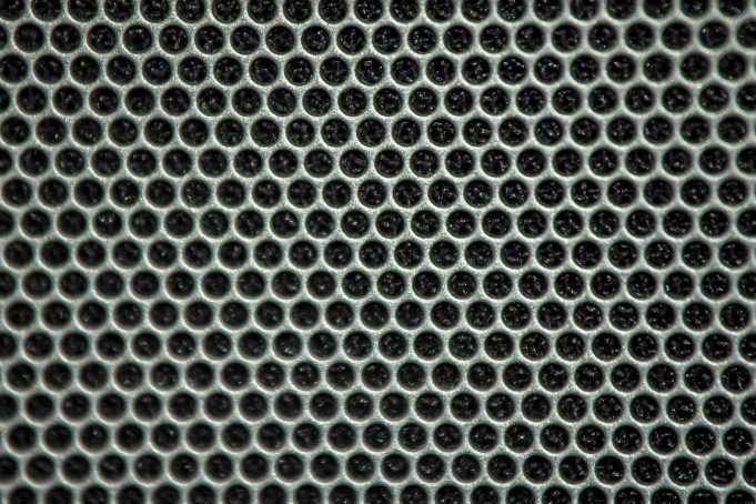 Perforated Metal Grid
