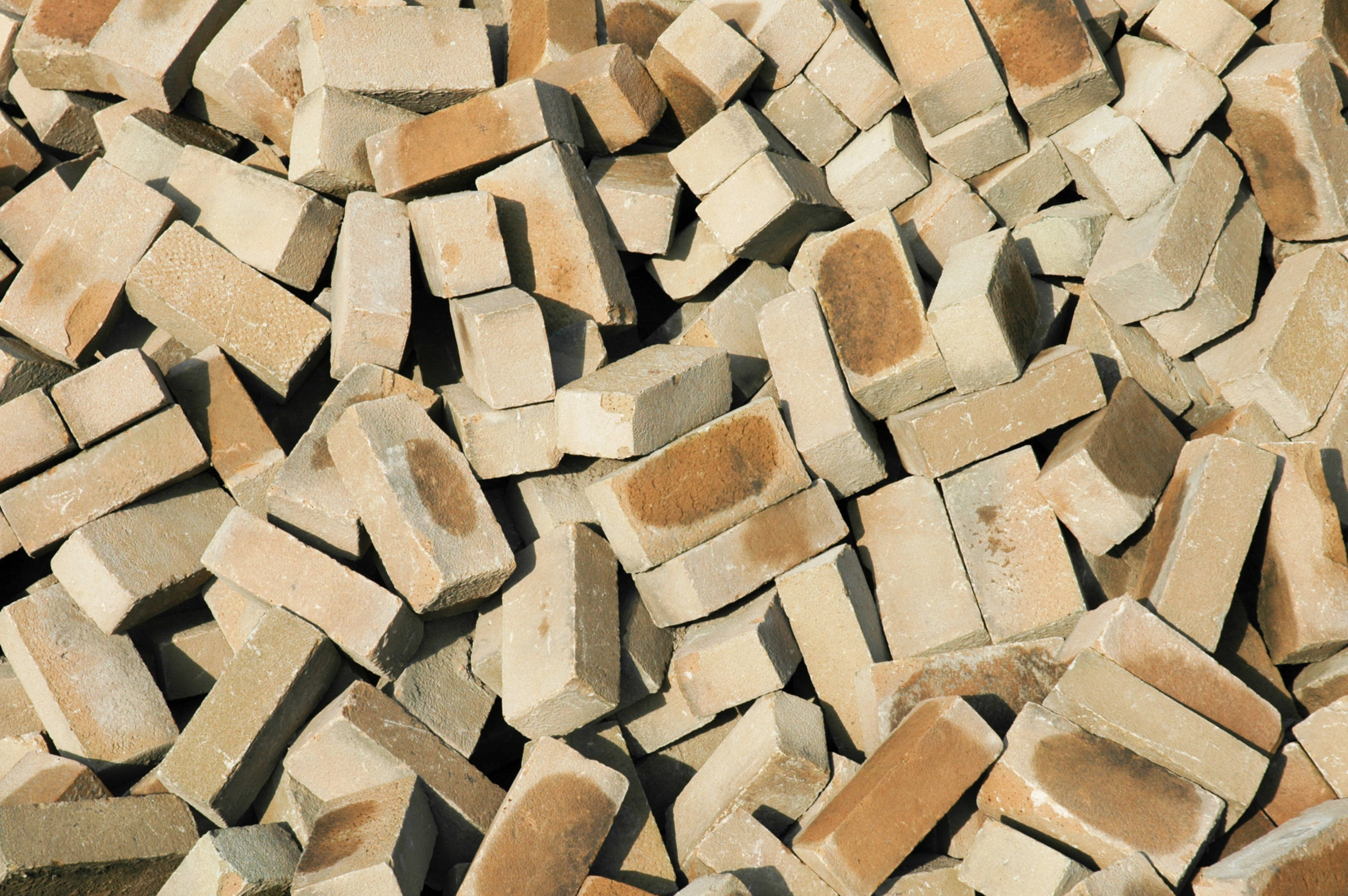 Pile of Bricks background pattern