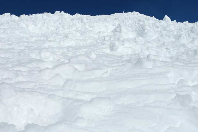 Pile of snow hill background