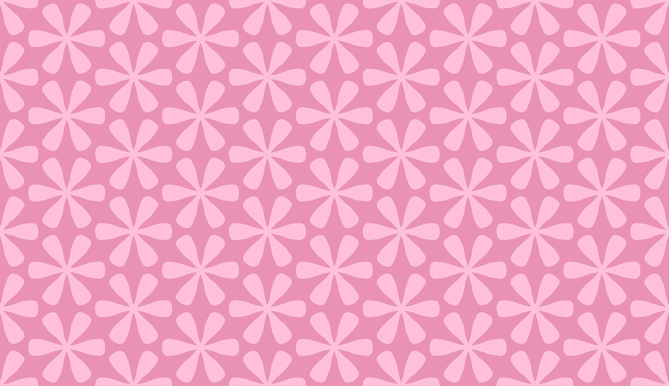 Pink Asterix Pattern