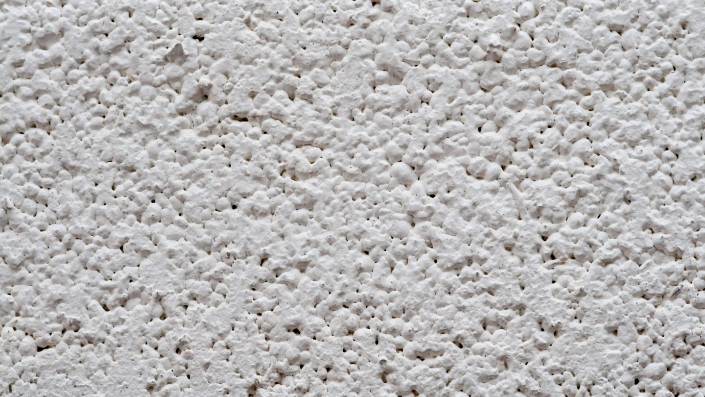 Plaster Texture Pattern White Wall Close-Up