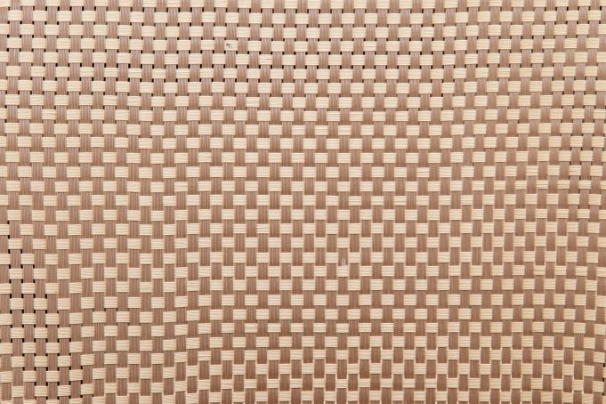 Plastic woven seat pattern texture
