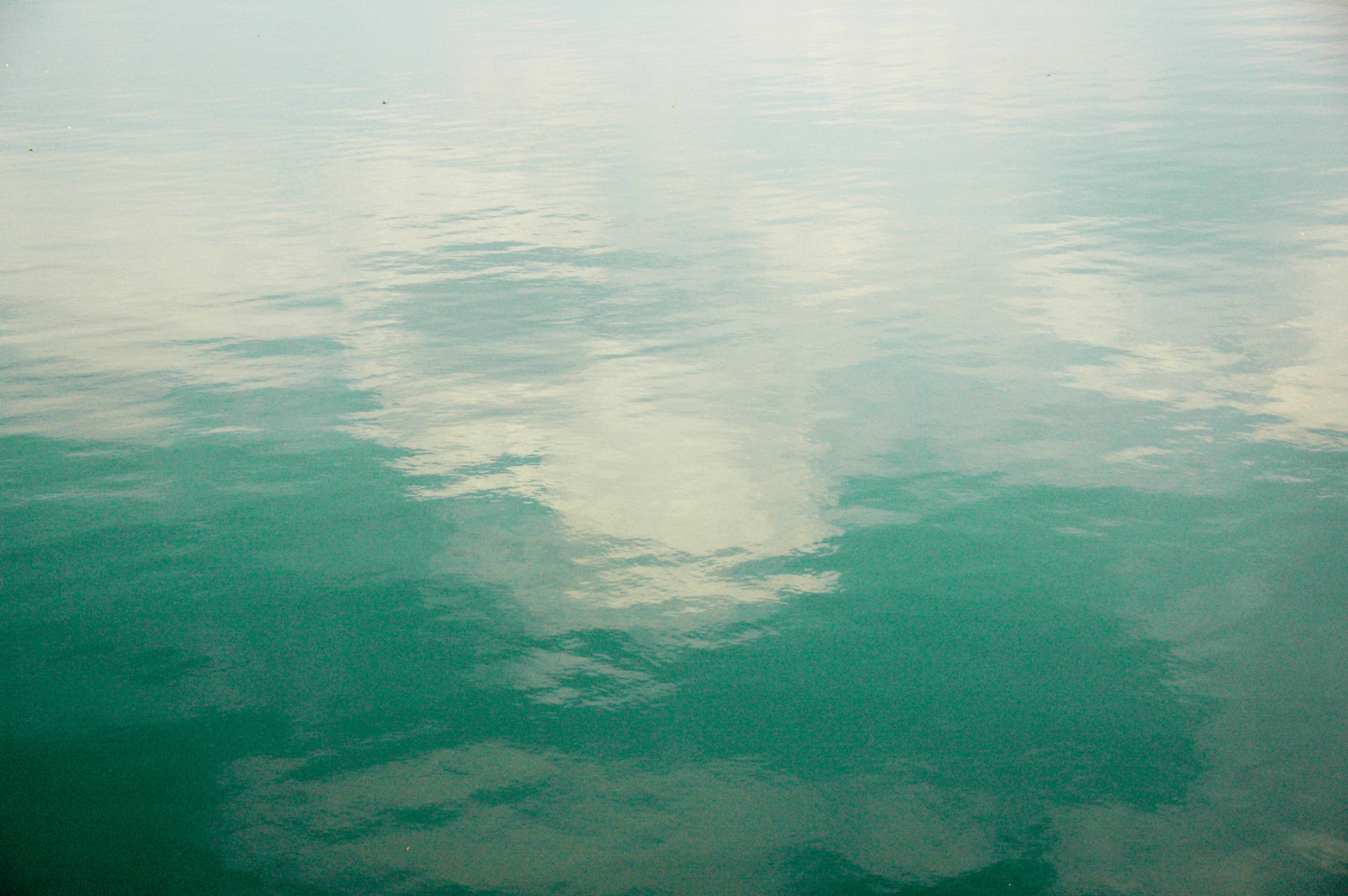 Quiet Rippling Flowing Water