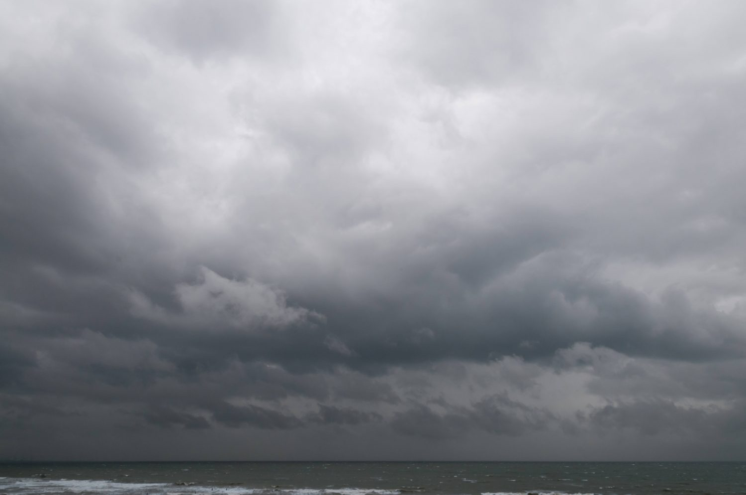 Radiant Cloudy Sky over Sea Water