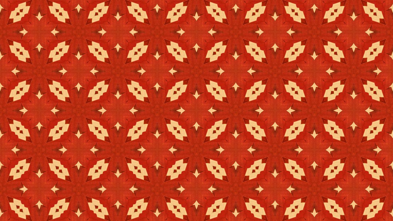 Razorblades Red Wallpaper Pattern