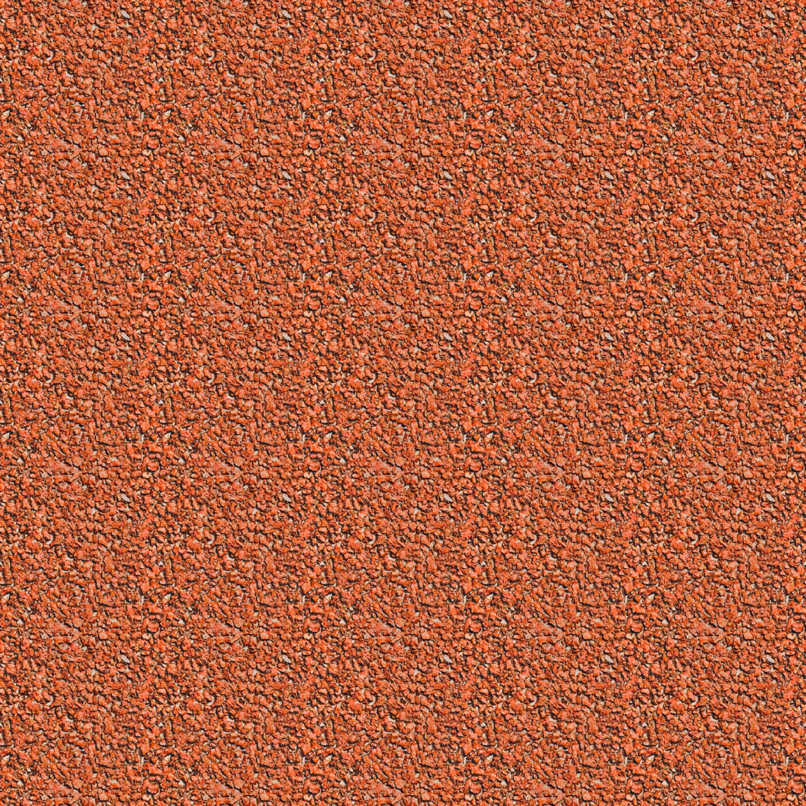 Red Gravel Seamless Texture