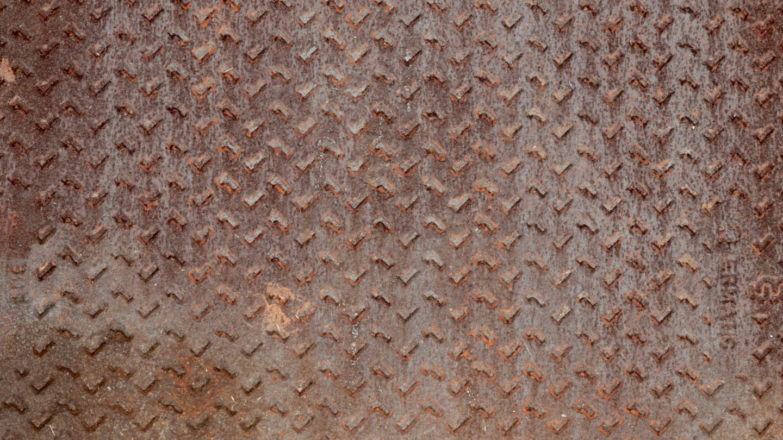 Rusty steel plate texture free photo