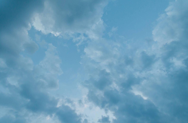 Sky and clouds light blue subtle background