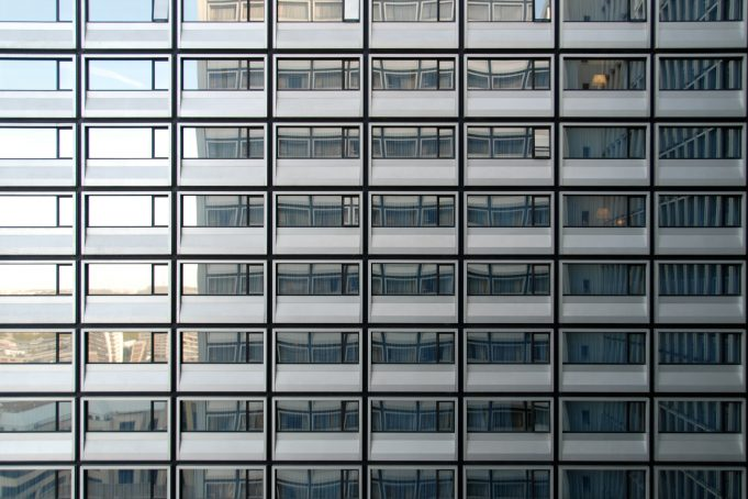 Skyscraper repetition photography