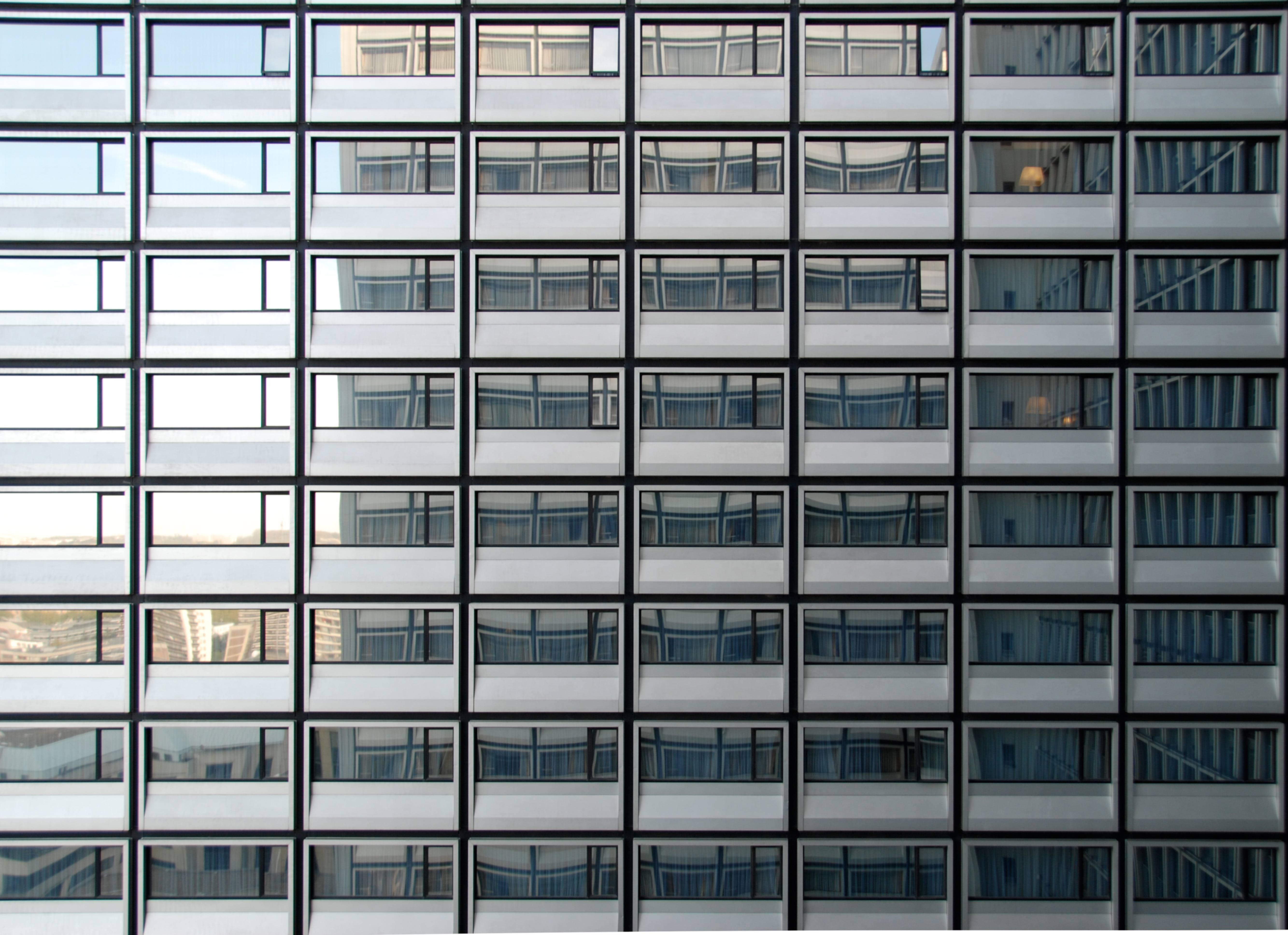 Skyscraper repetition photography