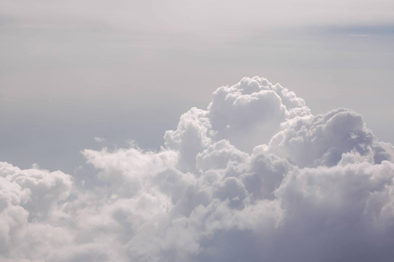 Soft Aerial Sky Clouds